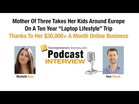 """Michelle Dale: Mother Of Three Takes Her Kids Around Europe On A Ten Year """"Laptop Lifestyle"""" Trip"""