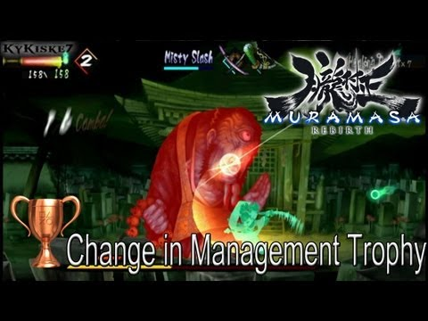 Muramasa Rebirth - Change In Management Trophy Guide