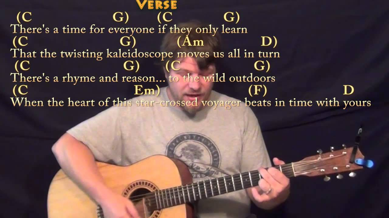Can You Feel The Love Tonight Strum Guitar Cover Lesson In G With