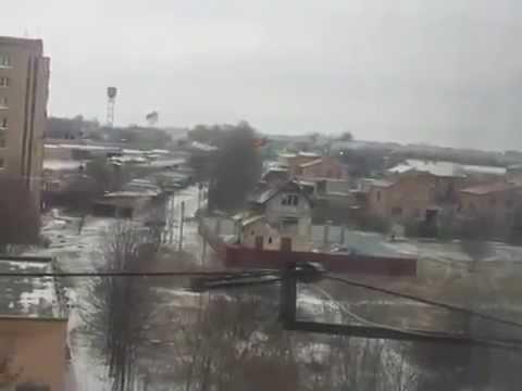 Civilian Films MRLS Attack in Ukraine