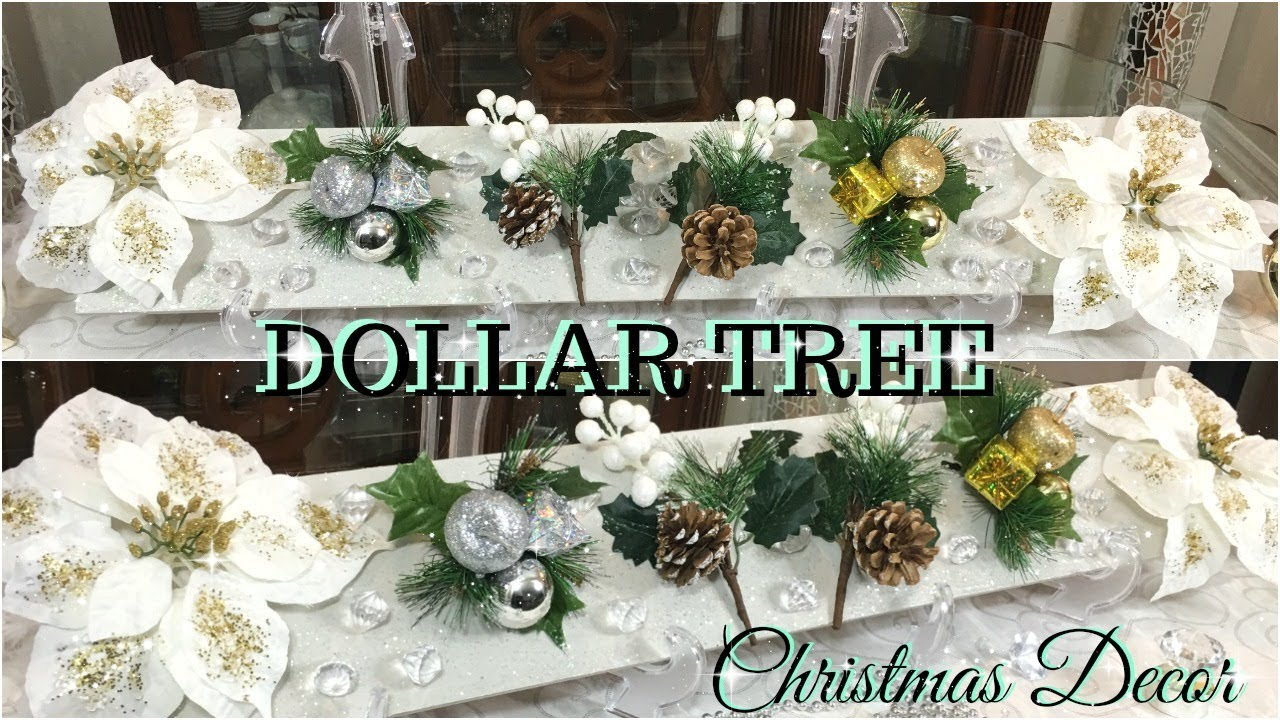 DOLLAR TREE DIY CHRISTMAS DECOR | DIY GLAM CHRISTMAS HOME ...