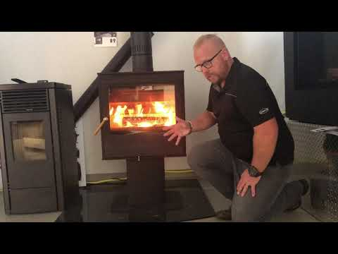 Lopi Evergreen Wood Stove from YouTube · Duration:  8 minutes 40 seconds