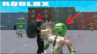 A SAW IN YOUR HEAD! Roblox Weapon Simulator