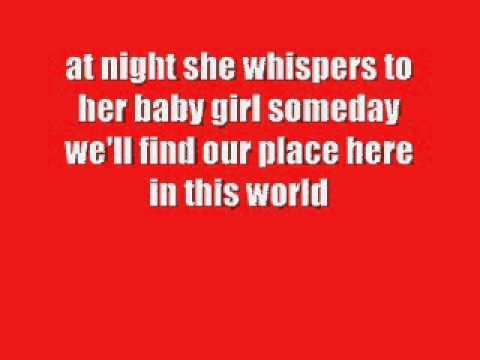 Carrie Underwood-Temporary Home Lyrics