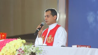 Fr Dominic Valanmanal Powerful Deliverance Song at Potta Bible Convention 2020