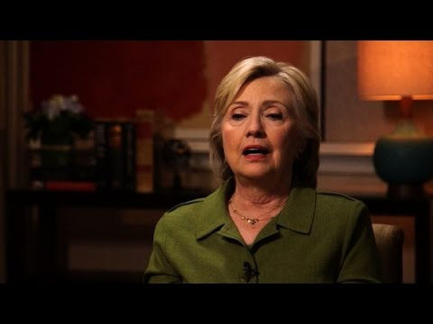 Hillary Clinton opens up about Lewinsky