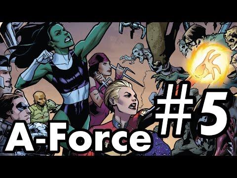 A-Force #5 Recap/Review – Arcadia's darkest hour