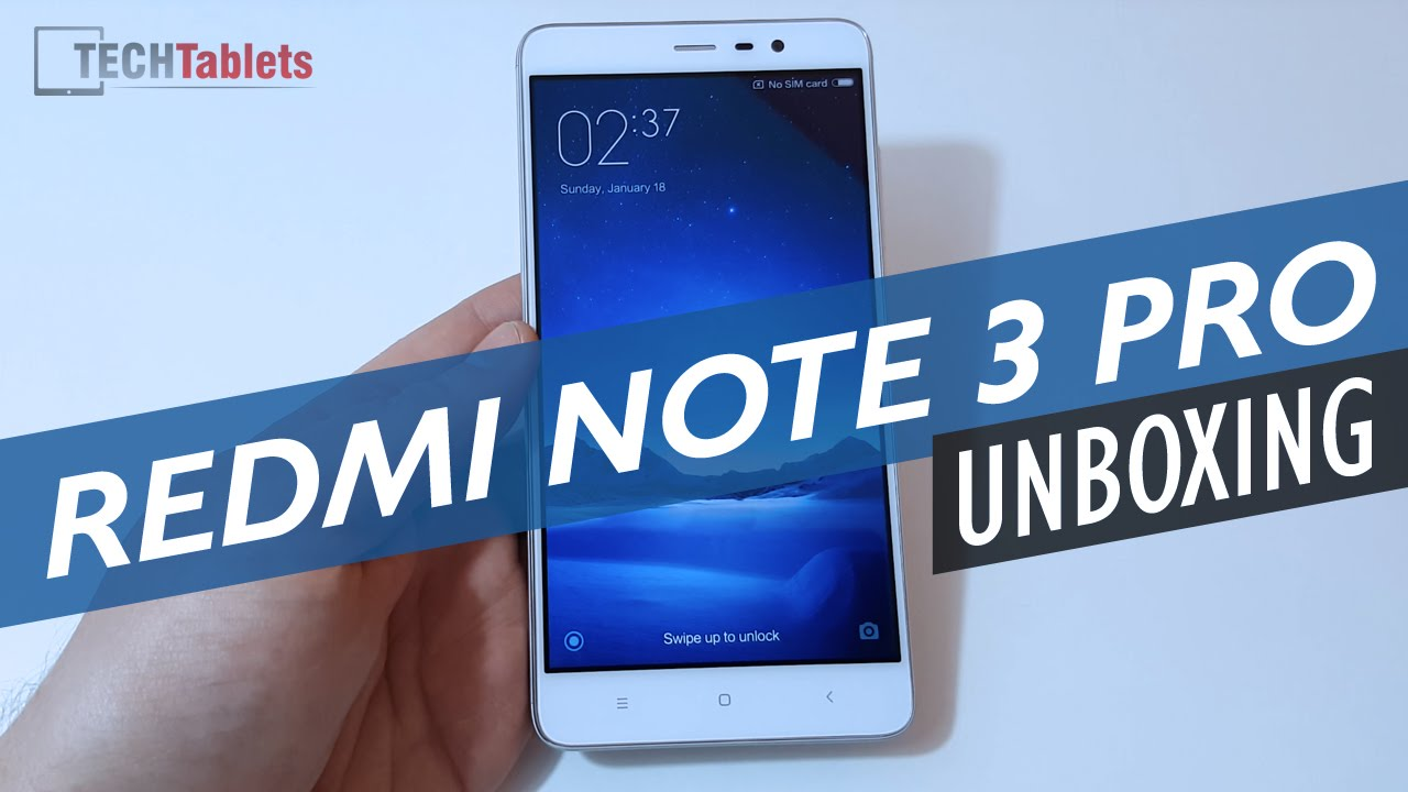 Xiaomi Redmi Note 3 Pro Snapdragon 650 Unboxing & Hands On