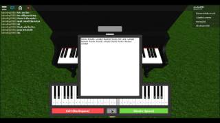 Comment jouer la chanson de Lugia sur piano roblox