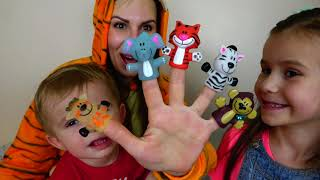 Finger animals SONG FOR KIDS with Joy Joy Lika