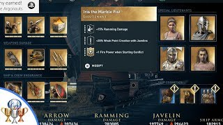 Assassin's Creed Odyssey - How to Recruit Legendary Special Lieutenants for The Adrestia