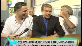 Kemal Sunal Müjdat Gezen Ugur Dündar Bir Arada Sinif Okulda Röportaj Sohbet Özel Görüntüler-