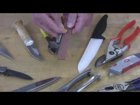 Video of Sharpen Router Bits with DMT's Single Sided Diafold