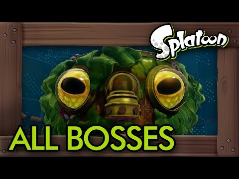 Splatoon - All Bosses (No Damage)