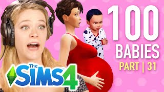 Single Girl Starves Her Children In The Sims 4 | Part 31