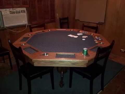 Captivating Octagon Poker Table