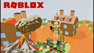 Playing The Floor is Lava on Roblox with my Mom