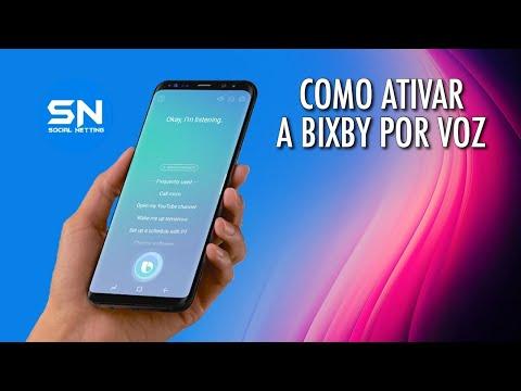 Como ativar a Bixby por voz e sua configuração em português - YouTube