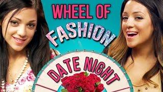 Valentine's Date Night OOTD Challenge with Niki and Gabi #WheelofFashion