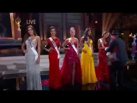 Miss Universe 2014 Top5 , Final Look - Gavin DeGraw - Fire