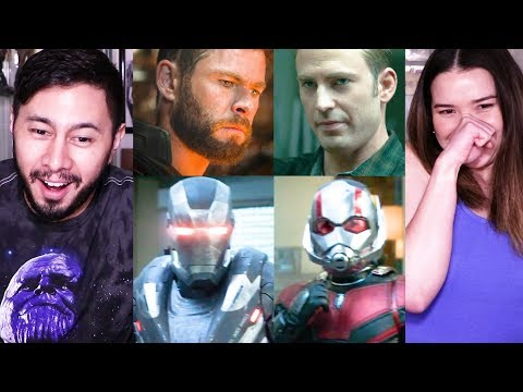 AVENGERS: ENDGAME | Super Bowl 2019 | Trailer Reaction!