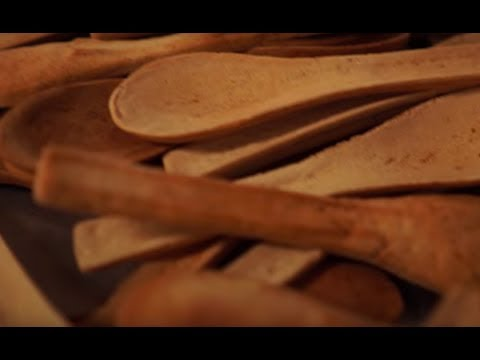 The world's first mass-produced EDIBLE CUTLERY