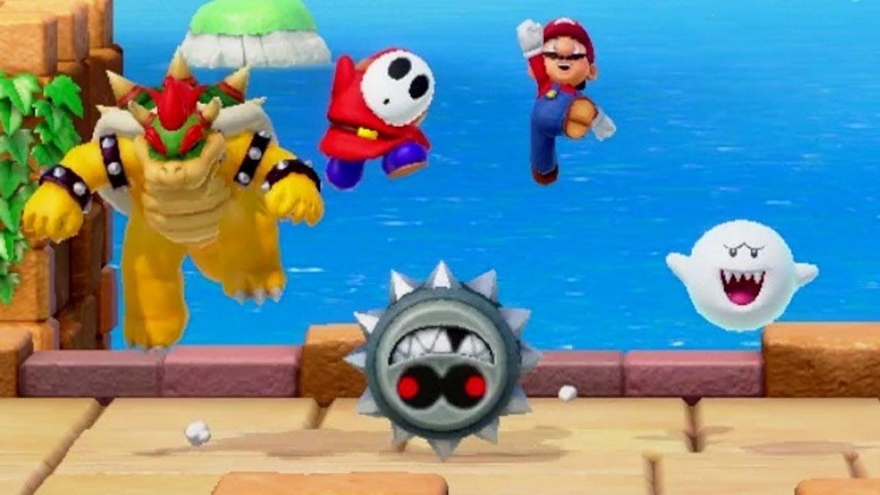Super Mario Party - Challenge Road World 3 - Mushroom Beach