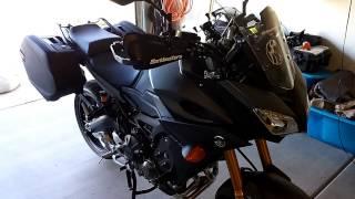 fj 09 throttle body sync and a short ride