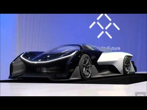 Faraday Future FF Zero1 - Faraday Future Unveils 'Electric Supercar Of The Future'