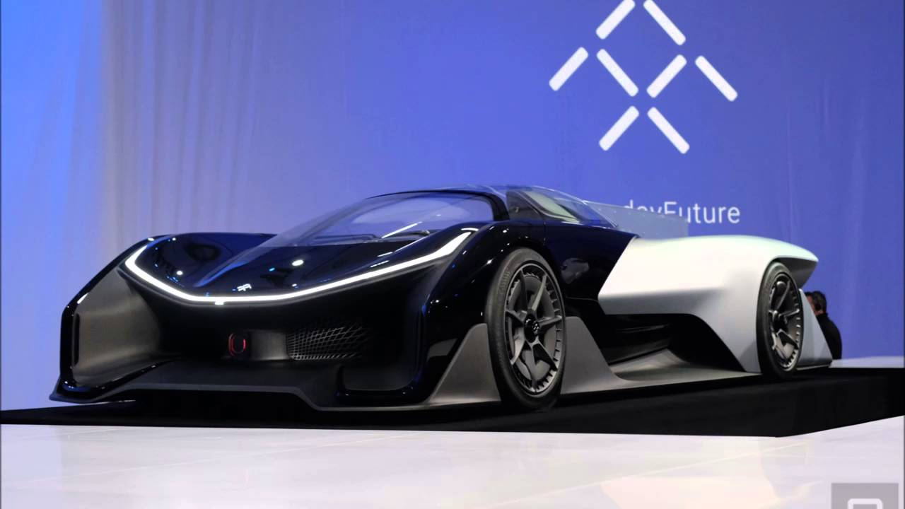 Faraday Future Ff Zero1 Unveils Electric Supercar Of The You