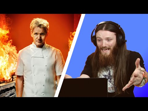 Irish People Watch Hell's Kitchen For The First Time