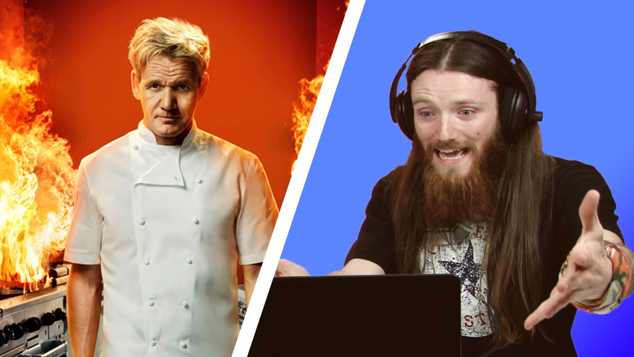 irish people watch hell's kitchen for the first time - youtube