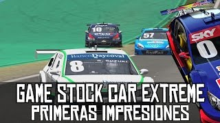Game Stock Car Extreme || Primeras impresiones