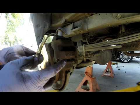 2007-2017 tundra rear brake