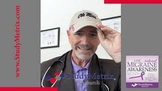 A message from Dr. Timothy Smith about Migraine/Headache Month