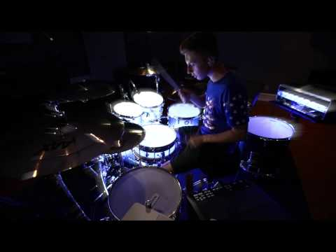Loyal Chris Brown/French Montana Drum Cover By Justin Charney