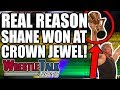 WWE Vs UFC?! Real Reason Shane McMahon Won At WWE Crown Jewel! | WrestleTalk News Nov. 2018