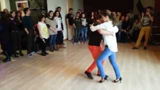 Видео: Miguel&Susana and Friends Day 2014 AFRO SEMBA Workshop!