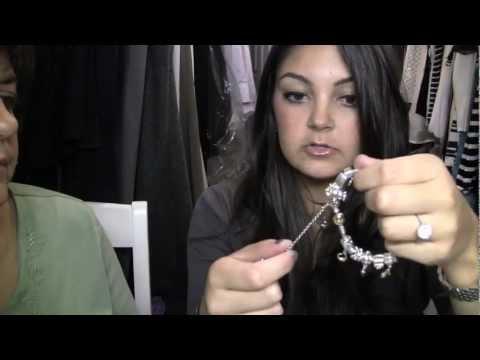 My Pandora Bracelet Collection & Meet My Mom!!