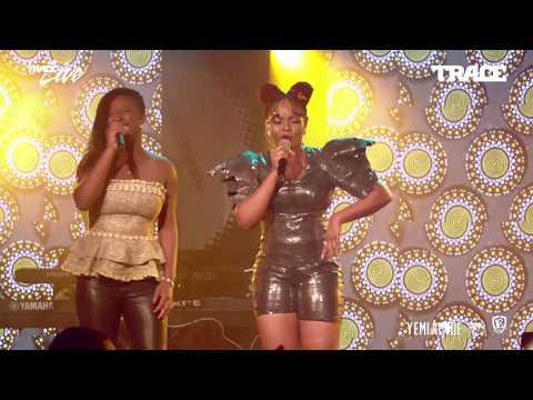 Charlotte Dipanda feat Yemi Alade - Sista @ Trace Live - 27fev18