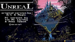 Unreal World gameplay (PC Game, 1990)