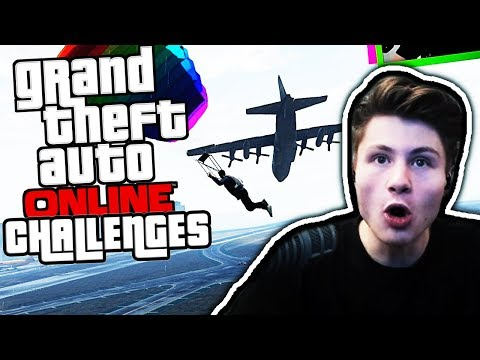 FLUGZEUG ABSTURZ Challenge | GTA Online mit Kev | Dner