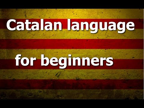 Catalan language Lesson 2