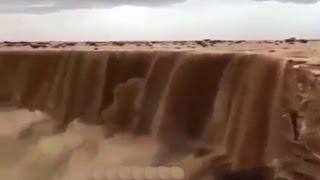 แปลกแต่จริง น้ำตกทราย Sand falls