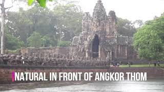 NATURAL IN FRONT OF ANGKOR THOM TEMPLE