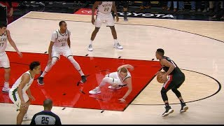 CJ McCollum Drops Donte DiVincenzo with Nasty Step Back