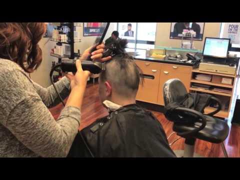 TA77.net YT Original - Dana LV (2017) Dana gets a shaved pixie cut