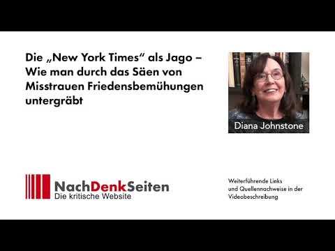 """Die """"New York Times"""" als Jago – Wie man durch das Säen von Misstrauen Friedensbemühungen untergräbt"""