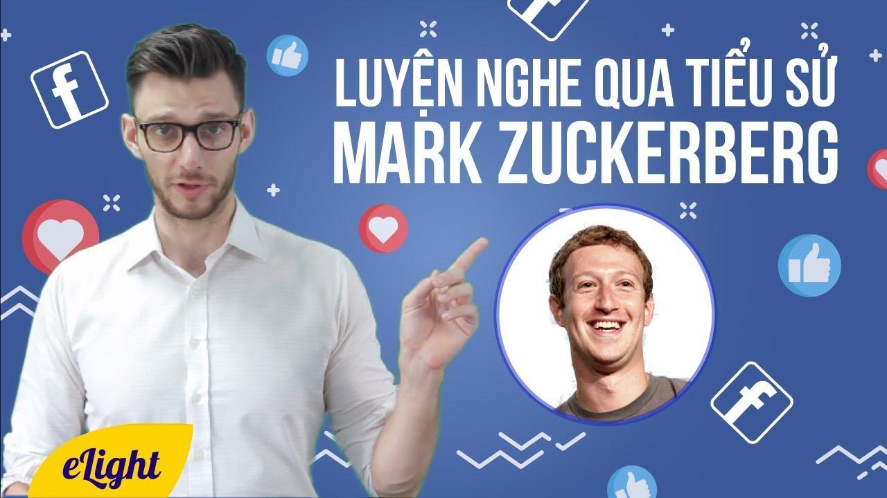 [Luyện nghe tiếng Anh] Luyện nghe ru ngủ dành cho người lười: Mark Zuckerberg – Facebook