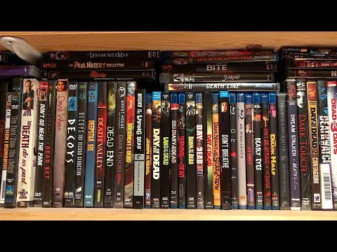 My Entire Horror Blu-ray and Dvd Collection